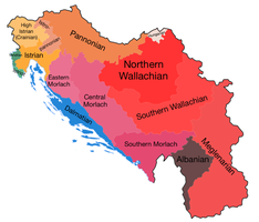 Romania Linguistic Map (R and Y swap universe) by LoreC10