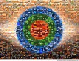 The Mars Trilogy mosaic - 588 img by Ludo38