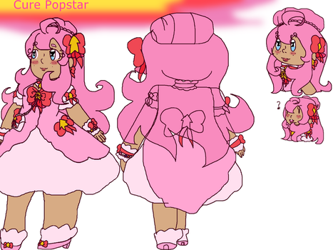 Cure Popstar ref by coolcat12347