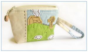 Farm pouch by restlesswillow