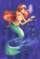 Little mermaid by kaminary-san
