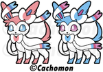 Sylveon Shimeji Project [BE PART OF IT!] by Cachomon