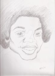 Lil Michael Jackson by skysee