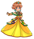 Queen Daisy [Collab] by Luna2528CP