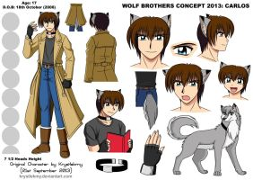Wolf Brothers Concept 2013 - Carlos by krystlekmy