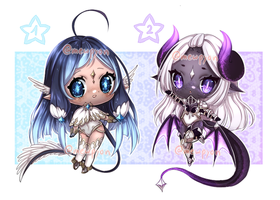 ADOPTS: Star ladys [CLOSED] by Mewpyonadopts