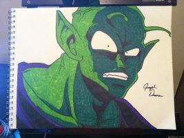 Piccolo by: Joseph Drane by DraneAnimation1
