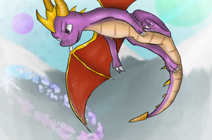 Spyro by Angeliclydemonic