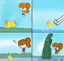 The Duck (comic) by NatoMX