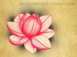 Lotus Tattoo Design Jackson, MS by jacksonmstattoo