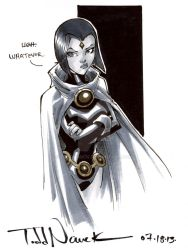 Teen Titans Raven by ToddNauck