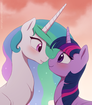 May I kiss you? by Akeahi