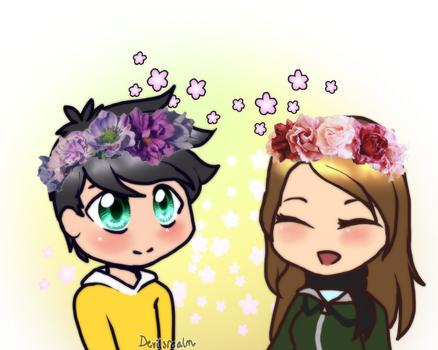 PTS- Flower Crowns [Valentines] by DevilsRealm