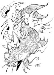 64e65eb67 ShannonxNaruto 206 77 My Koi Dragon Tattoo Design! :3 by ShannonxNaruto