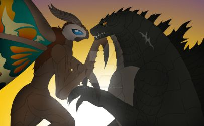 The King and Queen of the Monsters