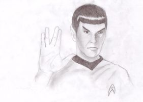 Spock by LilianG