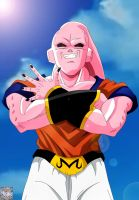 Super Buu Gohan Absorbed by kingvegito