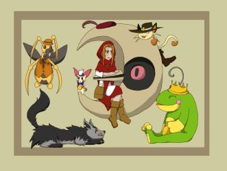 PCBC Once upon a time refsheet by Samantai