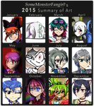 2015 Summary of Art \(030)/ by SomeMonsterFangirl