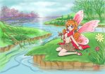 Fairy in fantasy land by chilicandy