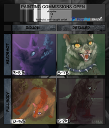 painting commissions *open* by SkrzynkaPandory