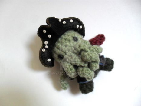 Davy Jones Amigurumi by AnyaZoe