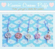 Lollipop Cellphone Straps by kawaiicreampuffs