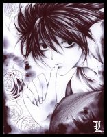 DeathNote: L by Giname