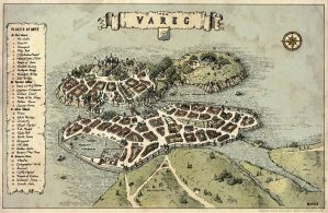 Tun Vareg - City Map by Brian-van-Hunsel