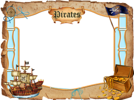 pirates frame png by Melissa-tm