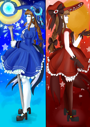 Wadanohara and The Great Blue Sea by Pannicotta