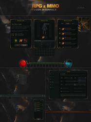 RPG and MMO UI by Evil-S