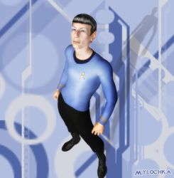 Vector Spock 02 by mylochka