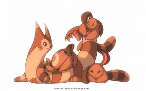 Sentrets and a Furret