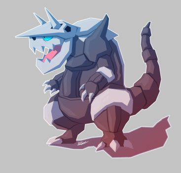 Aggron by Hey-its-Josh