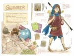 Chara sheet - Gwinver by Diabolo-menthe
