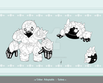 Critter Adoptable - Golem SOLD by Asgard-Chronicles
