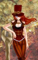 Steampunk by Sayuki-Art