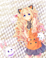 SeeU with the Kitties by Rimeka