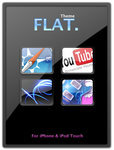 FLAT theme for iPhone by alxboss