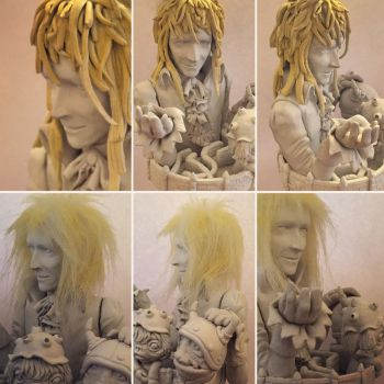 WIP Labyrinth figure Help! by vrlovecats