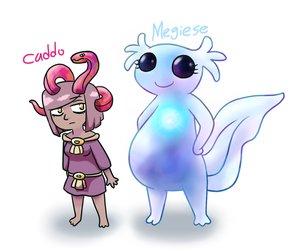 Cute spirits of Mexican mythology by ah-puch-zegno