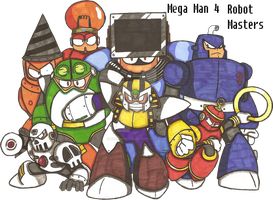 Robot Masters ANNIHILATE!!!! by Baragon1314