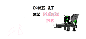 TO : Controller Skies Me Fighting Pinkie by brony4all