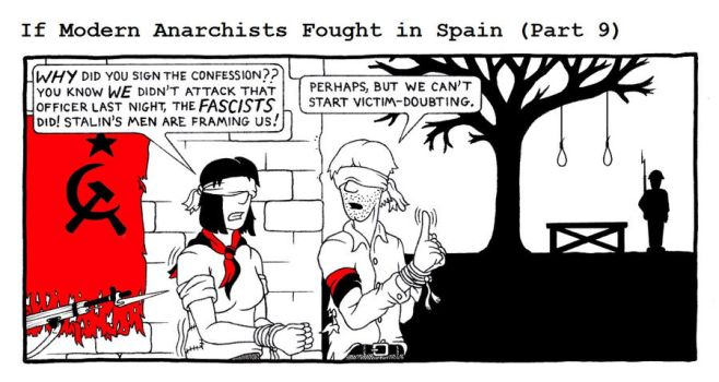 If Modern Anarchists Fought in Spain (Part 9) by RednBlackSalamander