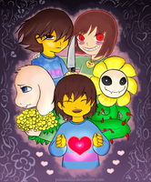 Undertale: The Fallen by PoisonDIlu