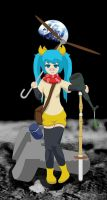 Mundane World Conquest - Hatsune Miku by geek96boolean10