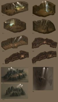 Cave design by wanbao