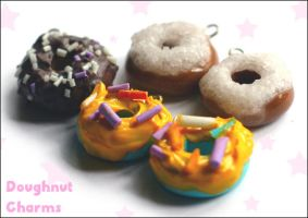 Doughnut Charms by pixypop