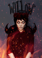 Don't Starve Willow by Helen-Stifler